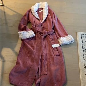 Brand New Pink Robe with Tags